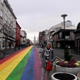 Main street in Reykjavik