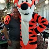 My Husband Ron and his Pal Tigger