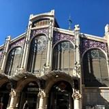 The central market in Valencia, Spain