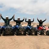 Riding Quads in Swakopmund