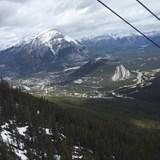Banff Gondola Scenic cableway ride to the summit