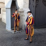 Swiss Guards at the Vatican - Rome, Italy