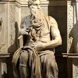 Moses, The Tomb of Julius II by Michelangelo