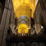 Interior of the Seville, Spain Cathedral