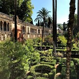 Gardens of the Alcazar, Seville, Spain