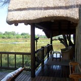 our thatched roof tent