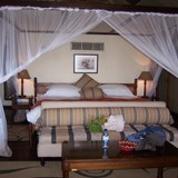 our tent at Savute Elephant Camp