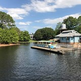 Ride the boat to Disney Springs