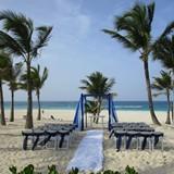 Wedding set up at Hard Rock Punta Cana