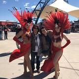 NASCAR qualifying in Las Vegas