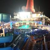 Deck Night - movie night.