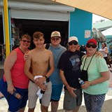 Belize Family Shot. Erik & Ryan, Mom, Dad, me, Nel