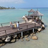 pier at Hilton Rose Hall Montego Bay