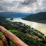 The Danube bend is so picturesque!