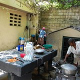 Cooking Meals for mothers and children