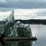 """She Lies"" Iceberg Sulputure, Oslo, Norway"