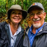 Hiking in the Amazon Rainforest