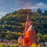 Castles along the Rhine River Valley