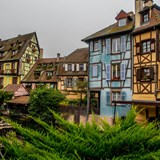 Colmar, France on the Rhine River