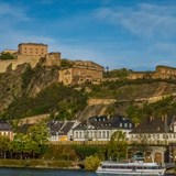 Floating on the Rhine River Cruise