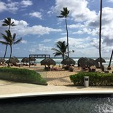Beach at the Chic hotel in Punta Cana