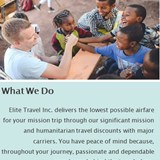 Humanitarian Airfares and Assistance