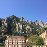 Montserrat Monastery is only 1 hour from Barcelona