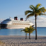 Disney Ship anchored in Exuma
