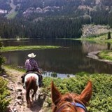 Colorado has incredible horseback riding