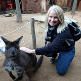 Saying G'day to the locals