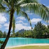 Spa views from the St. Regis Bora Bora