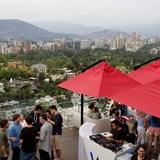 W Santiago rooftop bar