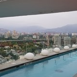 W Santiago rooftop pool and lounge