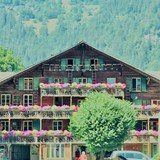 A typical Swiss Chalet...charming!