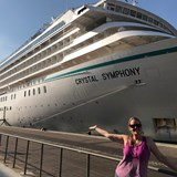 Crystal Symphony in port