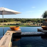 Views of the Texas Hill Country from the Pool