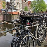 Amsterdam and all of the bikes