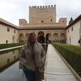 The Alhambra of Granada Castle, Spain