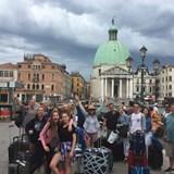 Arriving into Venice