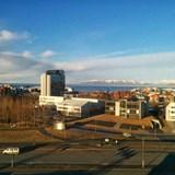 Reykjavík harbor from Hilton hotel