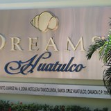 front sign of Dreams Huatulco