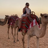 Camel ride with Sunset champagne toast