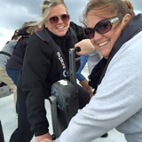 Sailing America's cup in New Zealand