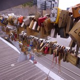 Yarra footbridge in Melbourne Australia