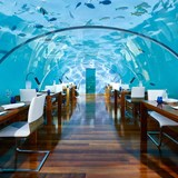 CONRAD MALDIVES Under Water Dining