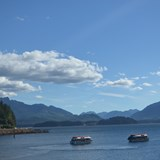 Tendering into Icy Strait Point