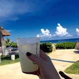 Refreshing moment Beach Style