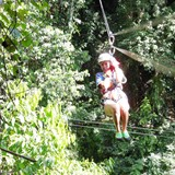 Ziplining near Negril!
