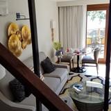 Sandals Negril Living Area of 1 Bedroom Loft