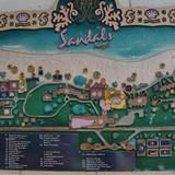 Sandals Negril Resort map